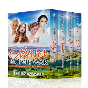 Nurses Of The Civil War Series Box Set, Books 1-4