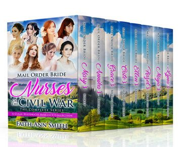 Mail Order Bride: Nurses Of The Civil War: The Complete Series Box Set